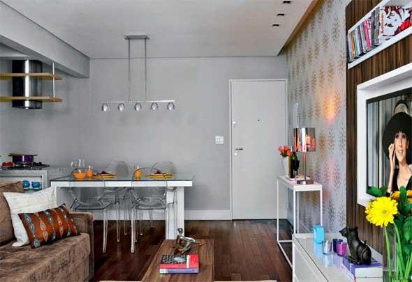 Apartamento pequeno com ambientes integrados 017