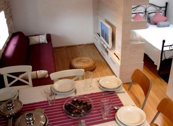 Apartamento pequeno com ambientes integrados 019