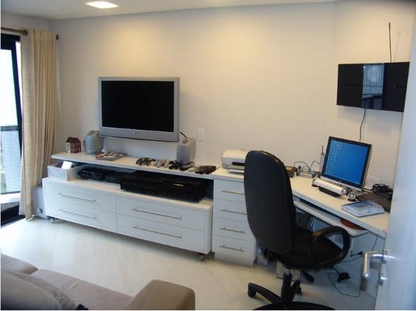 Apartamento pequeno com ambientes integrados 021