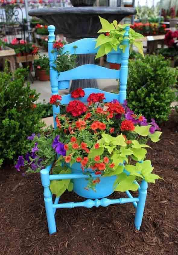 Cadeiras antigas na decoração 001