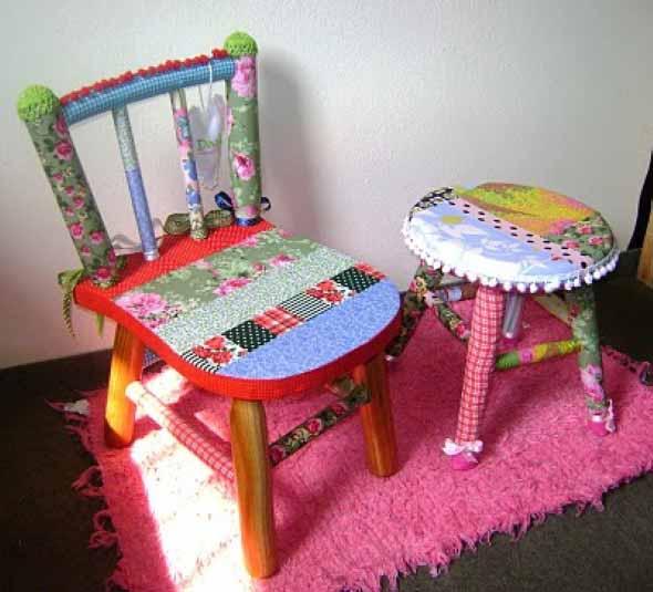 Cadeiras antigas na decoração 008