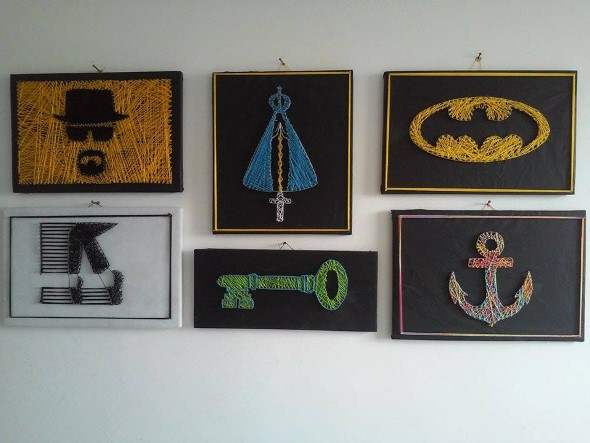 Conheça a String art 001
