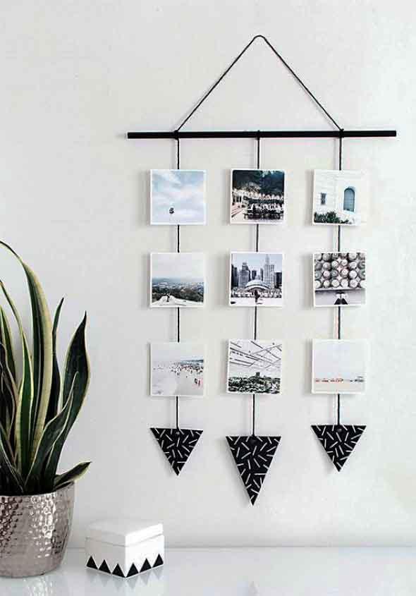DIY - Aprenda a montar um painel de fotos 001