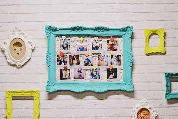 DIY - Aprenda a montar um painel de fotos 002