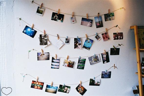 DIY - Aprenda a montar um painel de fotos 009