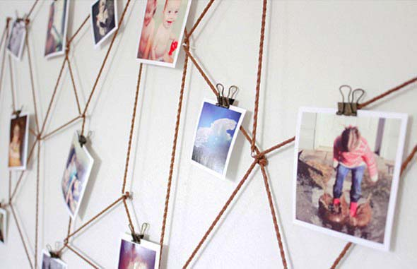 DIY - Aprenda a montar um painel de fotos 018