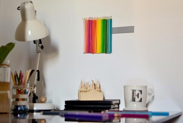 Decore sua casa com lápis de cor 003
