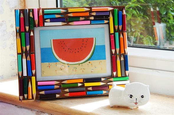 Decore sua casa com lápis de cor 005