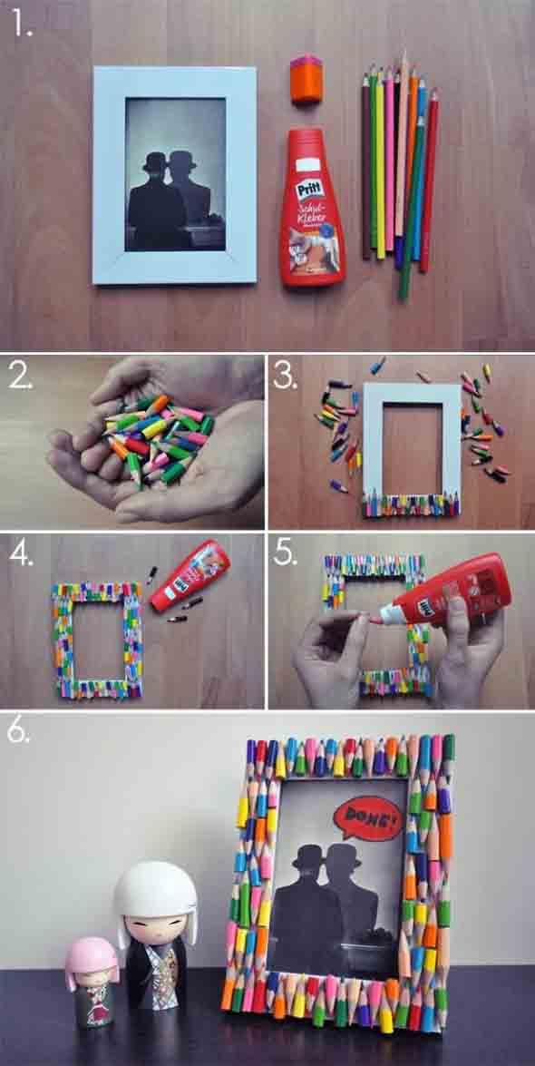 Decore sua casa com lápis de cor 007