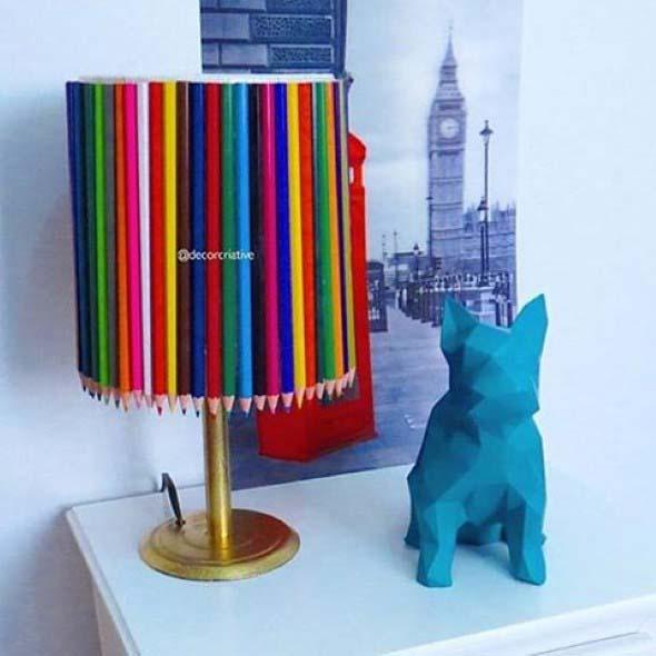 Decore sua casa com lápis de cor 008