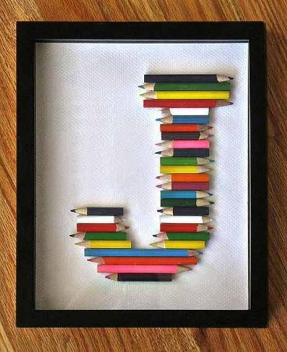 Decore sua casa com lápis de cor 009