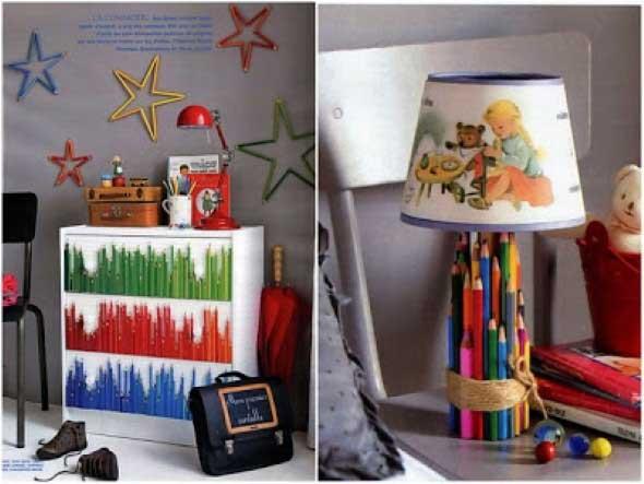 Decore sua casa com lápis de cor 010