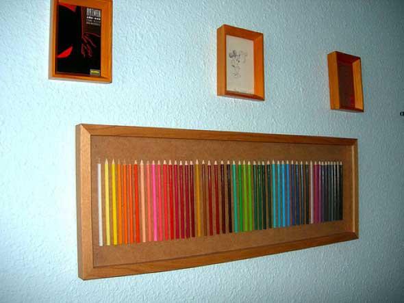 Decore sua casa com lápis de cor 012
