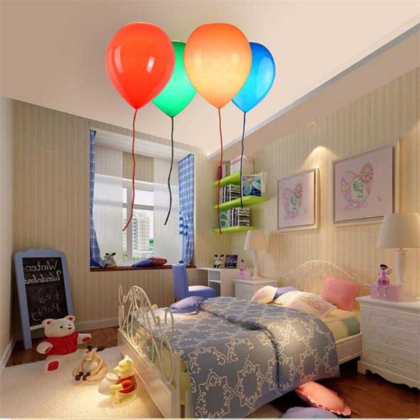 Lumin ria criativa o para quarto das crian as - Kinderzimmer beleuchtung ...