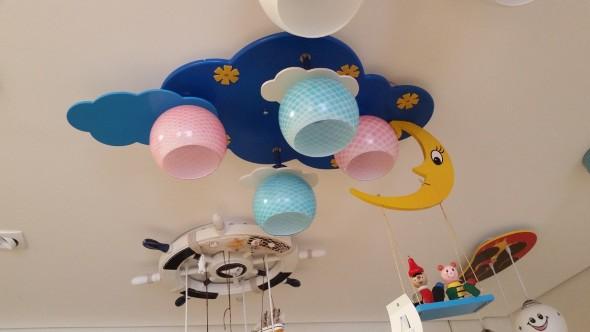 Luminária criativa o para quarto das crianças 004