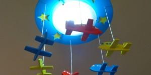 Luminária criativa o para quarto das crianças 005