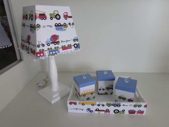Luminária criativa o para quarto das crianças 009