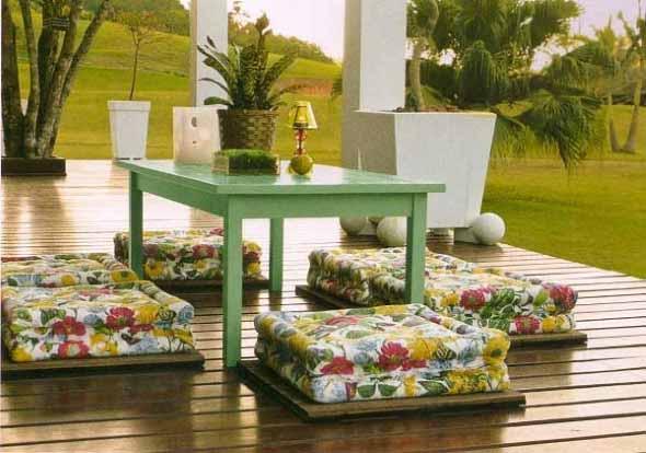 Mesas para varanda quintal ou jardim 005