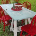 Mesas para varanda quintal ou jardim 009