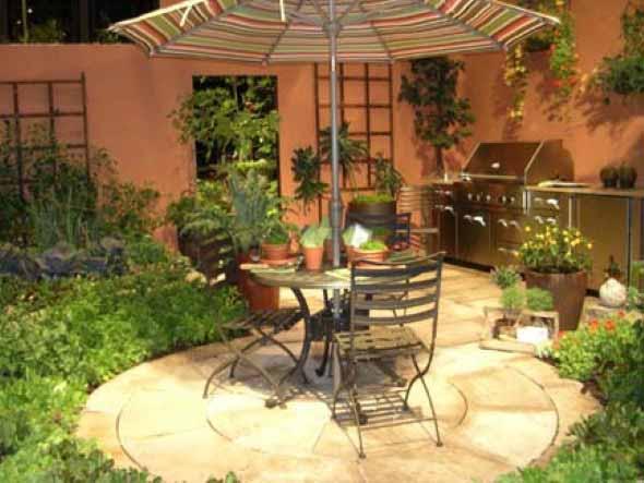 Mesas para varanda quintal ou jardim 010