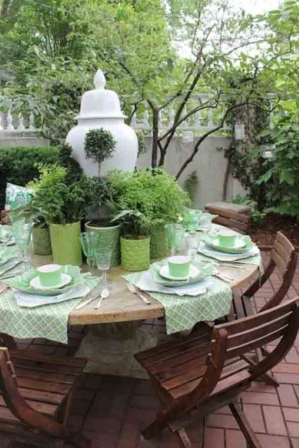 Mesas para varanda quintal ou jardim 012