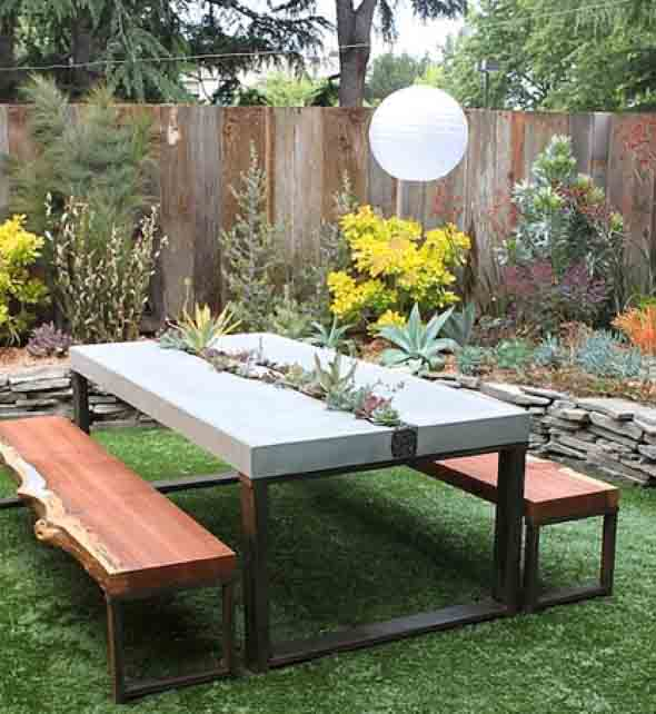 Mesas para varanda quintal ou jardim 017