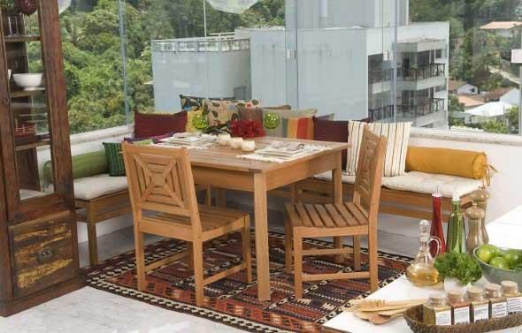 Mesas para varanda quintal ou jardim 020
