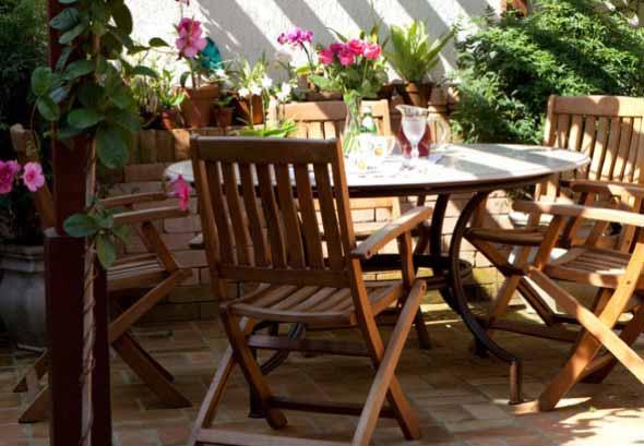 Mesas para varanda quintal ou jardim 023