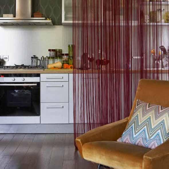 Cortinas na cozinha 012