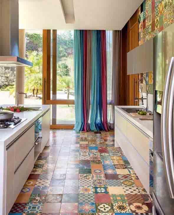 Cortinas na cozinha 015