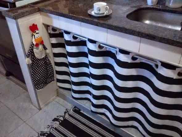 Cortinas na cozinha 024