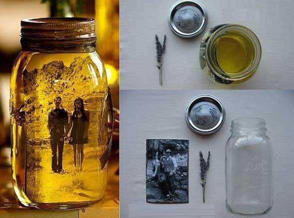 DIY - Porta retrato no potinho 004