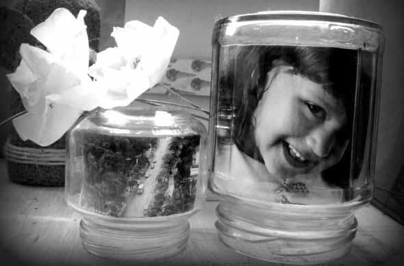 DIY - Porta retrato no potinho 010
