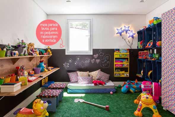 Espaço divertido para crianças em casa 005
