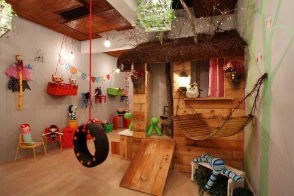 Espaço divertido para crianças em casa 006