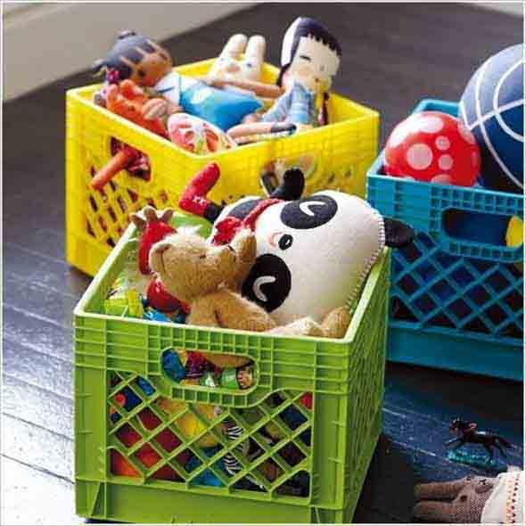 Espaço divertido para crianças em casa 014