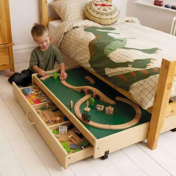 Espaço divertido para crianças em casa 017