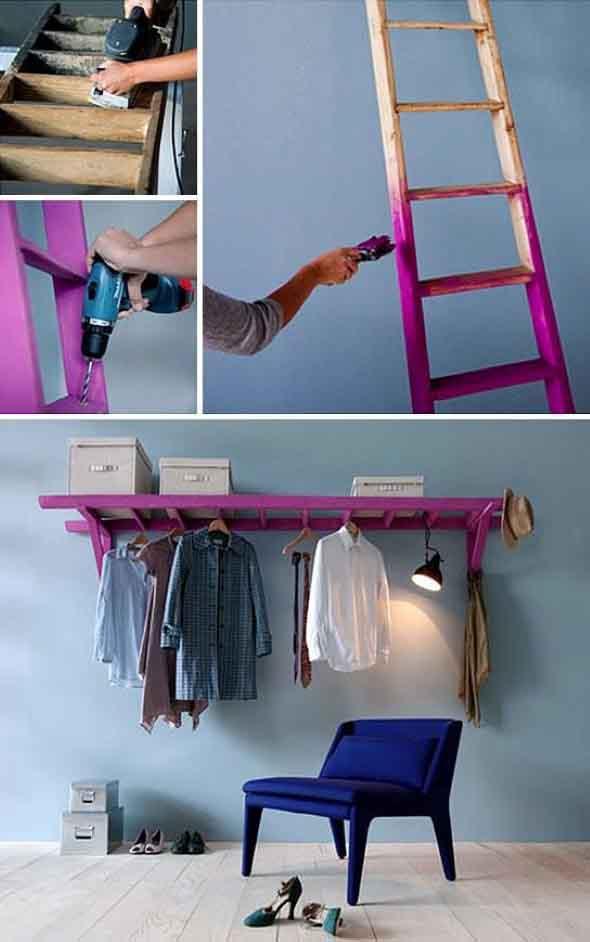 Novas formas de usar escadas na decoração 005
