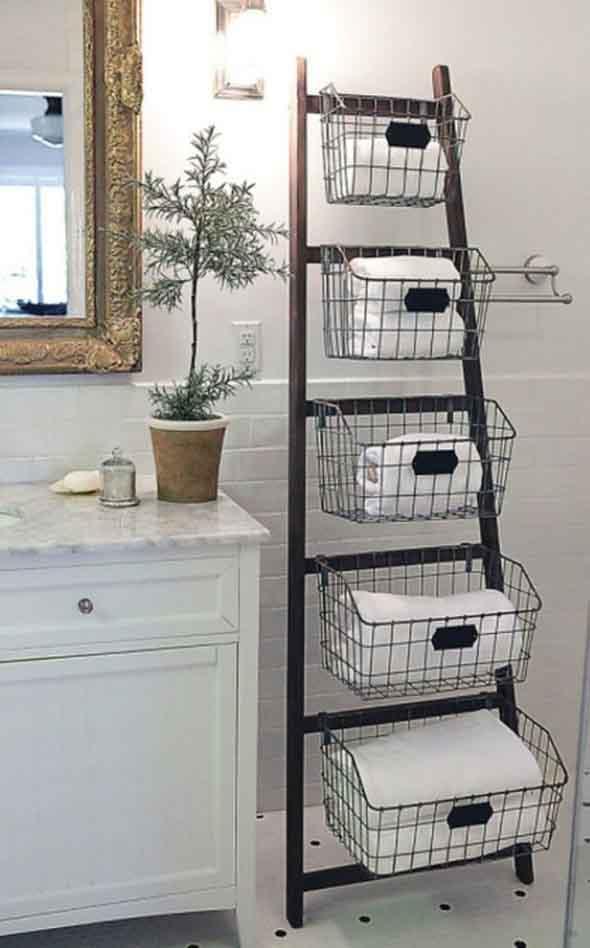 Novas formas de usar escadas na decoração 014