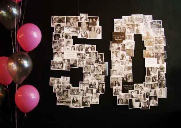 Painel de fotos em festas 001
