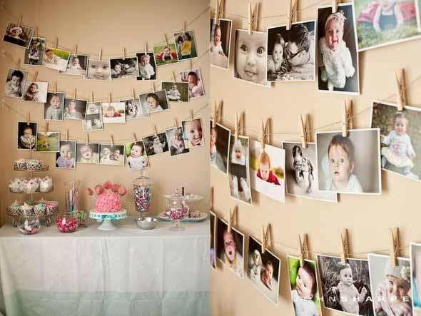 Painel de fotos em festas 005