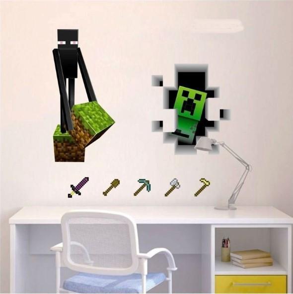 Decoração inspirada em jogos eletrônicos 017