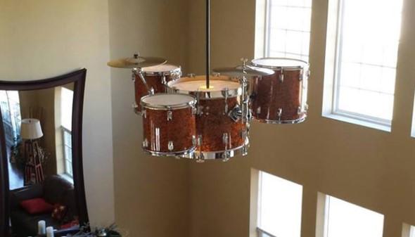 Decorando a casa com instrumentos musicais 007