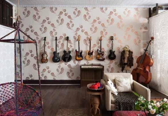 Decorando a casa com instrumentos musicais 019