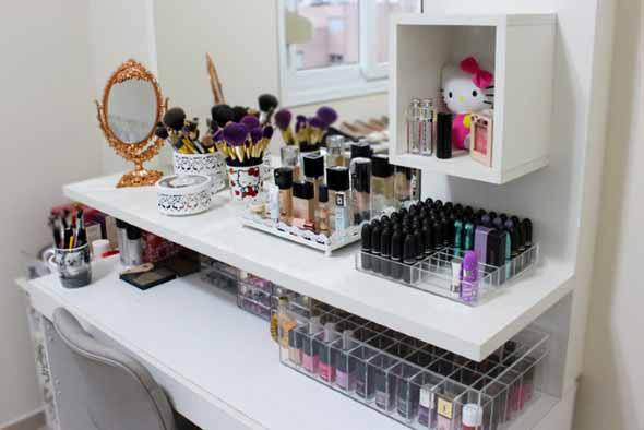 Dicas para organizar acessórios de maquiagem 005