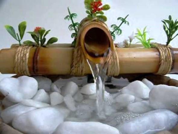 Fontes de água na decoração 009