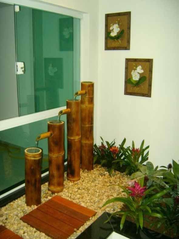 Fontes de água na decoração 010