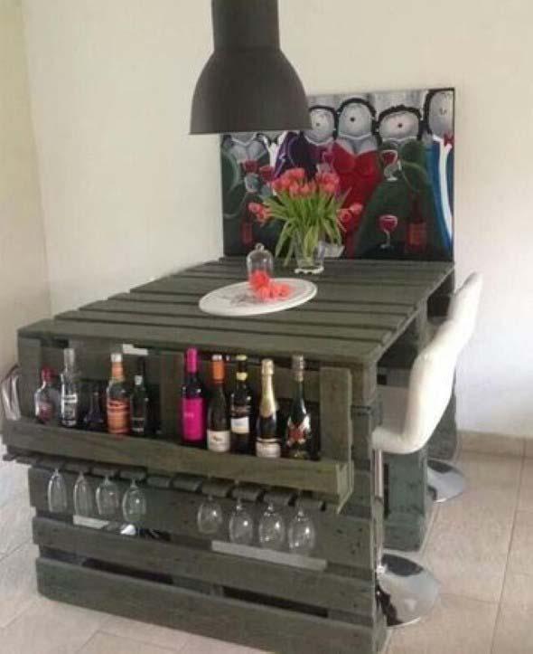 Mesa da cozinha de paletes 009