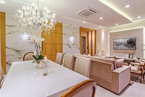 Modelos de sala de jantar e estar integradas na decora o for Sala de estar sala de jantar