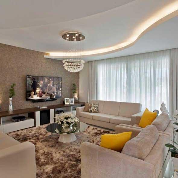 Salas de estar modernas e atuais 002
